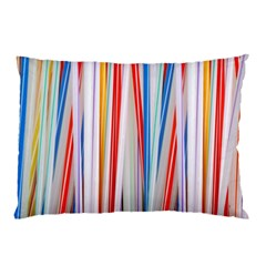 Background Decorate Colors Pillow Case (two Sides)