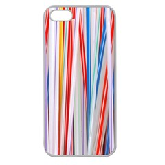 Background Decorate Colors Apple Seamless Iphone 5 Case (clear)