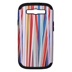 Background Decorate Colors Samsung Galaxy S Iii Hardshell Case (pc+silicone) by Nexatart