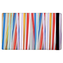 Background Decorate Colors Apple Ipad 3/4 Flip Case