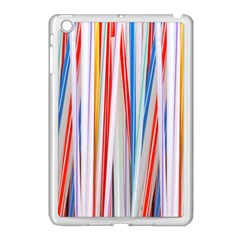 Background Decorate Colors Apple Ipad Mini Case (white)