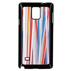 Background Decorate Colors Samsung Galaxy Note 4 Case (black)