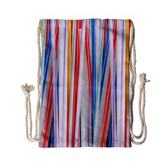 Background Decorate Colors Drawstring Bag (small)
