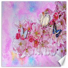 Nice Nature Flowers Plant Ornament Canvas 16  X 16