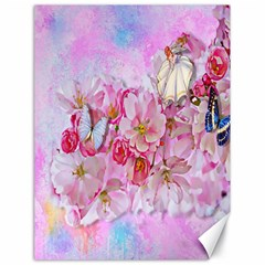 Nice Nature Flowers Plant Ornament Canvas 18  X 24