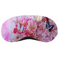 Nice Nature Flowers Plant Ornament Sleeping Masks by Nexatart