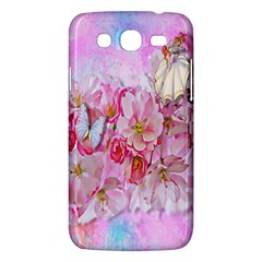 Nice Nature Flowers Plant Ornament Samsung Galaxy Mega 5 8 I9152 Hardshell Case