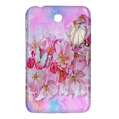 Nice Nature Flowers Plant Ornament Samsung Galaxy Tab 3 (7 ) P3200 Hardshell Case