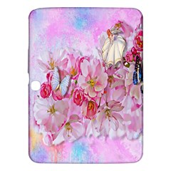 Nice Nature Flowers Plant Ornament Samsung Galaxy Tab 3 (10 1 ) P5200 Hardshell Case