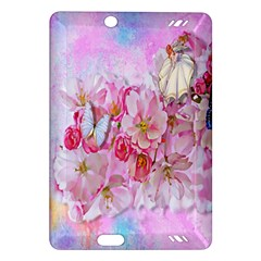Nice Nature Flowers Plant Ornament Amazon Kindle Fire Hd (2013) Hardshell Case