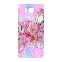 Nice Nature Flowers Plant Ornament Samsung Galaxy Alpha Hardshell Back Case by Nexatart
