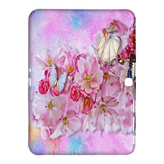Nice Nature Flowers Plant Ornament Samsung Galaxy Tab 4 (10 1 ) Hardshell Case