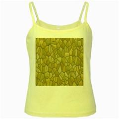 Tile Steinplatte Texture Yellow Spaghetti Tank