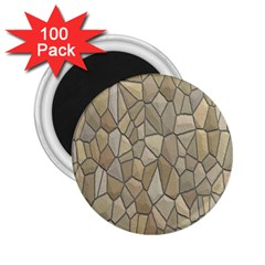 Tile Steinplatte Texture 2 25  Magnets (100 Pack)