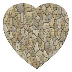 Tile Steinplatte Texture Jigsaw Puzzle (heart)