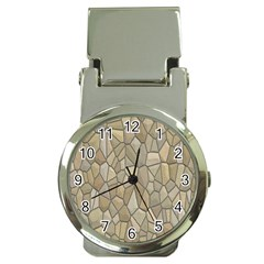 Tile Steinplatte Texture Money Clip Watches