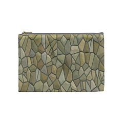 Tile Steinplatte Texture Cosmetic Bag (medium)