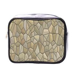 Tile Steinplatte Texture Mini Toiletries Bags