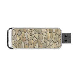 Tile Steinplatte Texture Portable Usb Flash (two Sides)