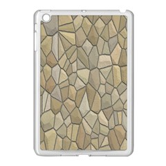 Tile Steinplatte Texture Apple Ipad Mini Case (white)