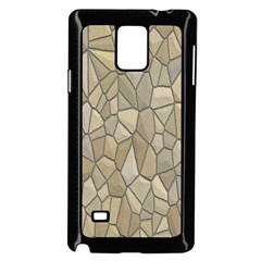 Tile Steinplatte Texture Samsung Galaxy Note 4 Case (black)