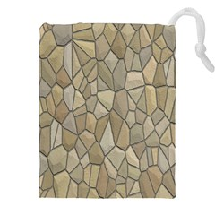 Tile Steinplatte Texture Drawstring Pouches (xxl)