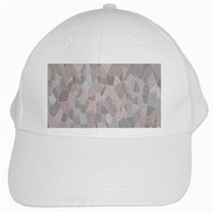 Pattern Mosaic Form Geometric White Cap