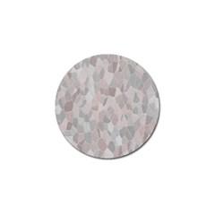 Pattern Mosaic Form Geometric Golf Ball Marker (4 Pack)