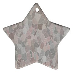 Pattern Mosaic Form Geometric Star Ornament (two Sides)