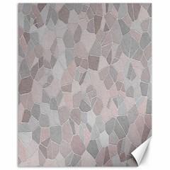 Pattern Mosaic Form Geometric Canvas 16  X 20