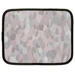 Pattern Mosaic Form Geometric Netbook Case (large)
