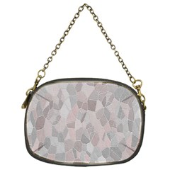 Pattern Mosaic Form Geometric Chain Purses (one Side)
