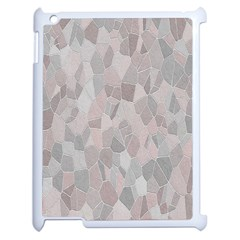 Pattern Mosaic Form Geometric Apple Ipad 2 Case (white)