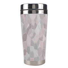 Pattern Mosaic Form Geometric Stainless Steel Travel Tumblers