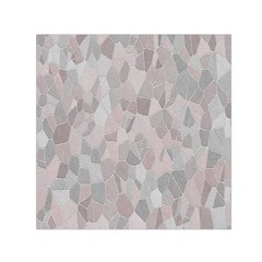 Pattern Mosaic Form Geometric Small Satin Scarf (square)