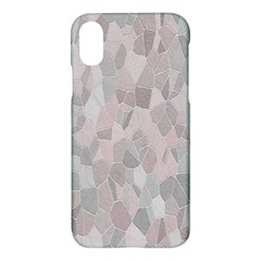 Pattern Mosaic Form Geometric Apple Iphone X Hardshell Case