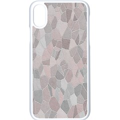 Pattern Mosaic Form Geometric Apple Iphone X Seamless Case (white)