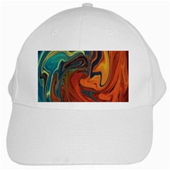 Creativity Abstract Art White Cap