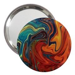 Creativity Abstract Art 3  Handbag Mirrors