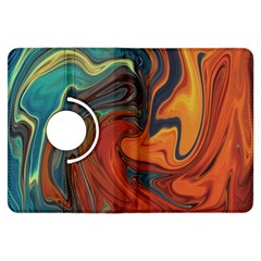 Creativity Abstract Art Kindle Fire Hdx Flip 360 Case