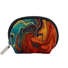Creativity Abstract Art Accessory Pouches (small)