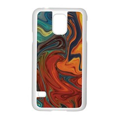 Creativity Abstract Art Samsung Galaxy S5 Case (white)