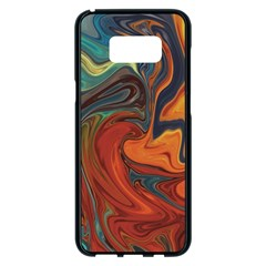 Creativity Abstract Art Samsung Galaxy S8 Plus Black Seamless Case