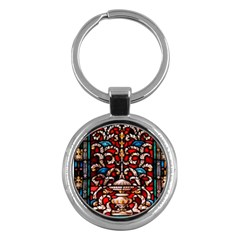 Decoration Art Pattern Ornate Key Chains (round)