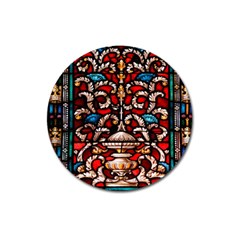 Decoration Art Pattern Ornate Magnet 3  (round)