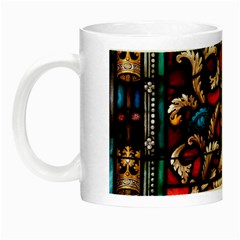 Decoration Art Pattern Ornate Night Luminous Mugs