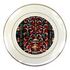 Decoration Art Pattern Ornate Porcelain Plates