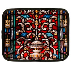 Decoration Art Pattern Ornate Netbook Case (large)