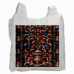 Decoration Art Pattern Ornate Recycle Bag (one Side)