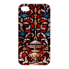 Decoration Art Pattern Ornate Apple Iphone 4/4s Premium Hardshell Case